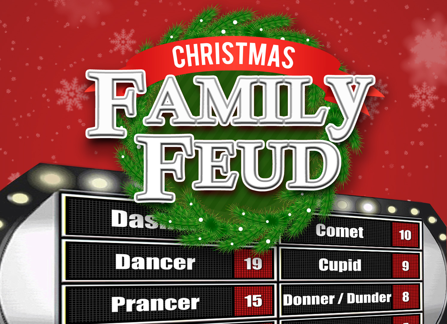 Family Feud Game Template Powerpoint