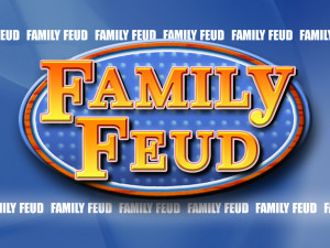 family feud customizable powerpoint template - youth, Modern powerpoint