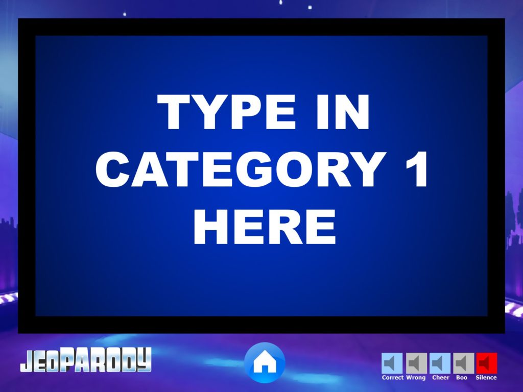 Jeopardy Powerpoint Game Template - Youth DownloadsYouth Downloads