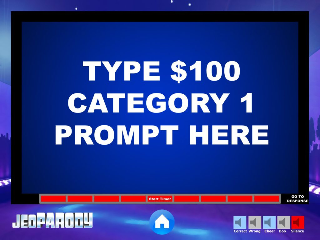 Jeopardy powerpoint game template youth downloadsyouth downloads countdown timer pronofoot35fo Image collections
