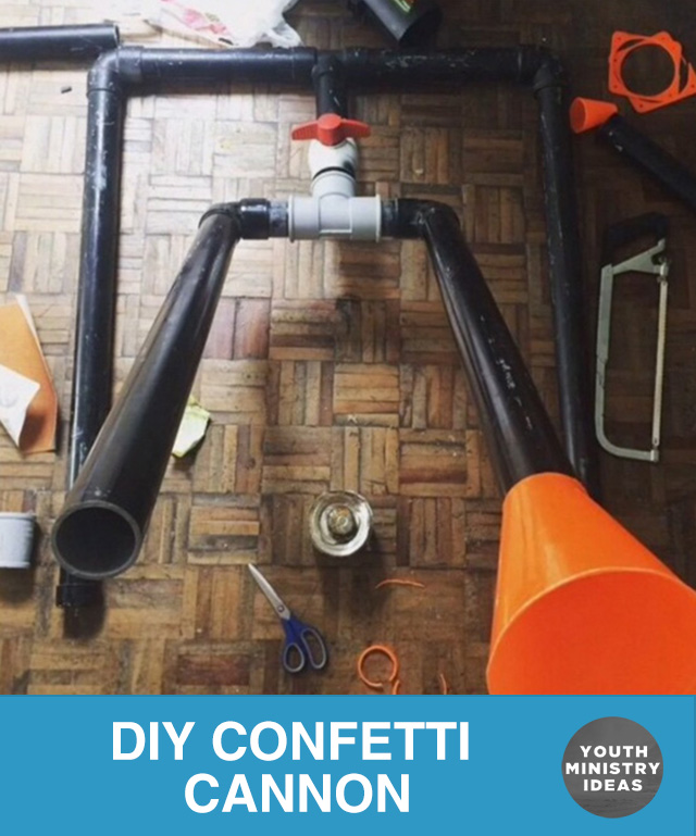 Diy Confetti Cannon Youth Downloadsyouth Downloads