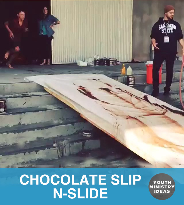 Chocolate Slip-N-Slide