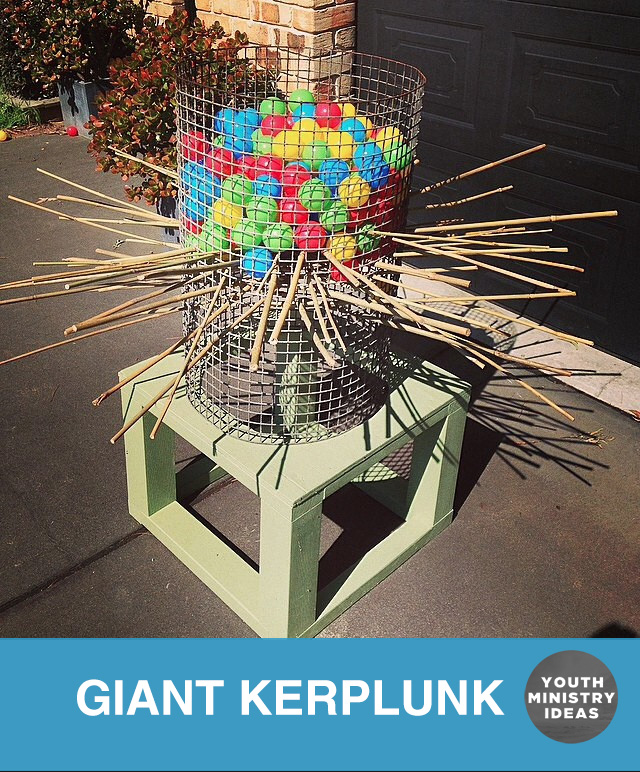 Giant Kerplunk