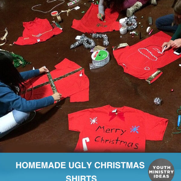 Homemade Ugly Christmas Shirts