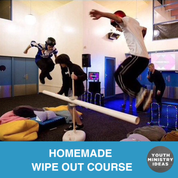 Homemade WipeOut Course