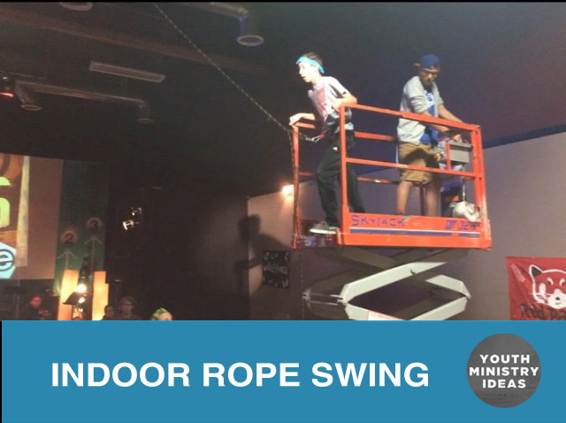 Indoor Rope Swing