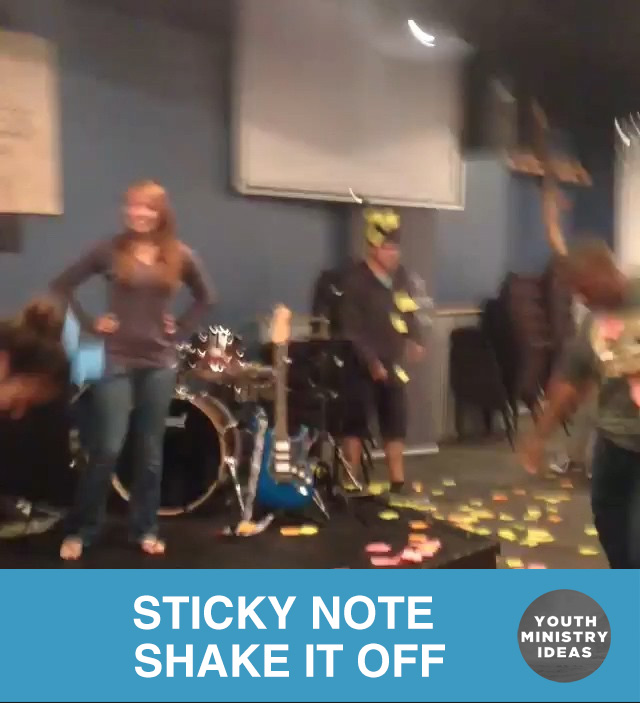 Sticky Note Shake It Off