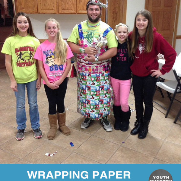 Wrapping Paper Fashion Show