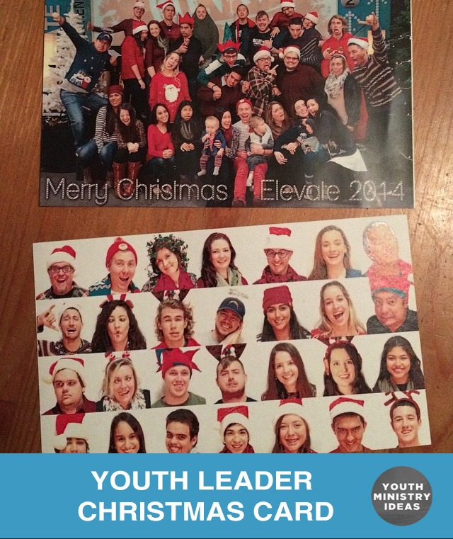 youth leader christmas card