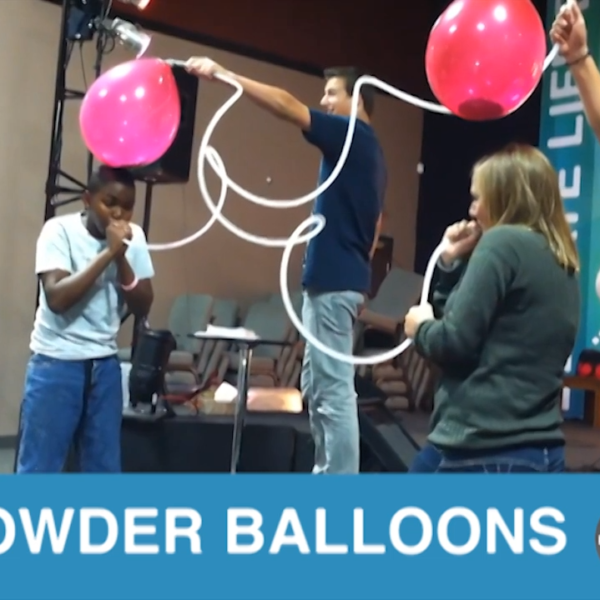 Powder Balloon Blow