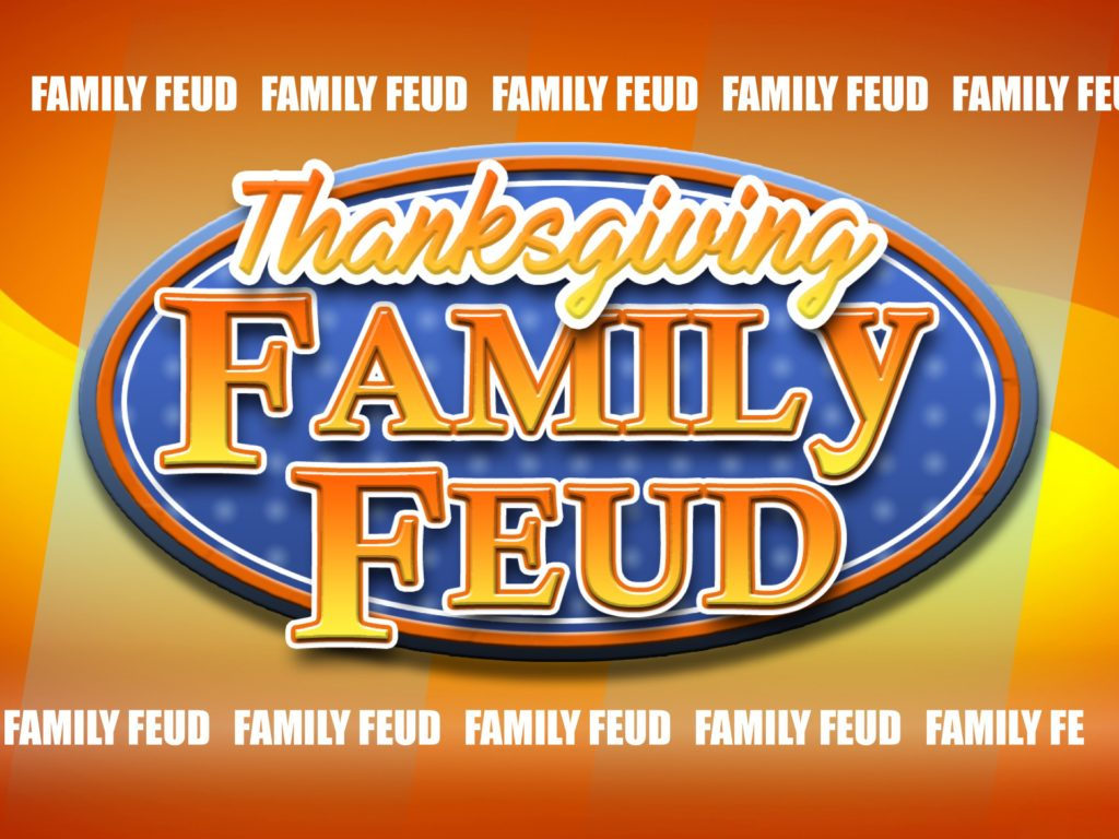 thanksgiving family feud trivia powerpoint game - mac and pc, Powerpoint templates
