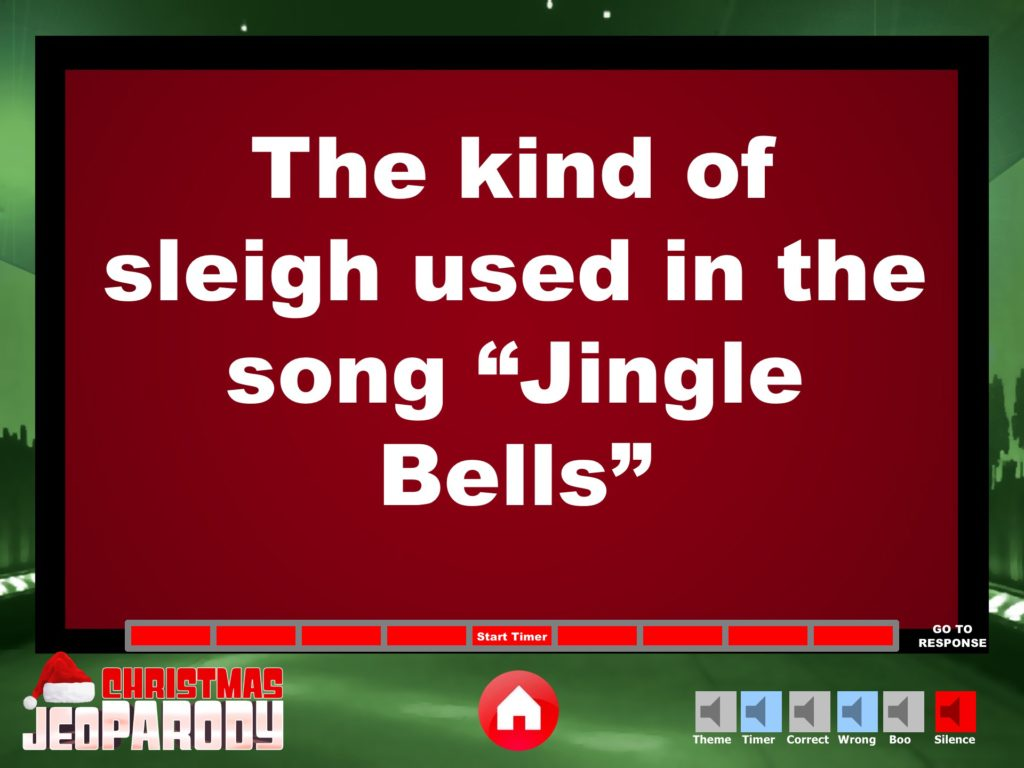 christmas jeopardy powerpoint template