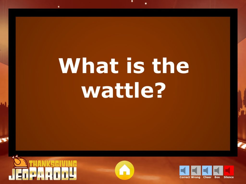 thanksgiving jeopardy trivia powerpoint game - youth, Modern powerpoint