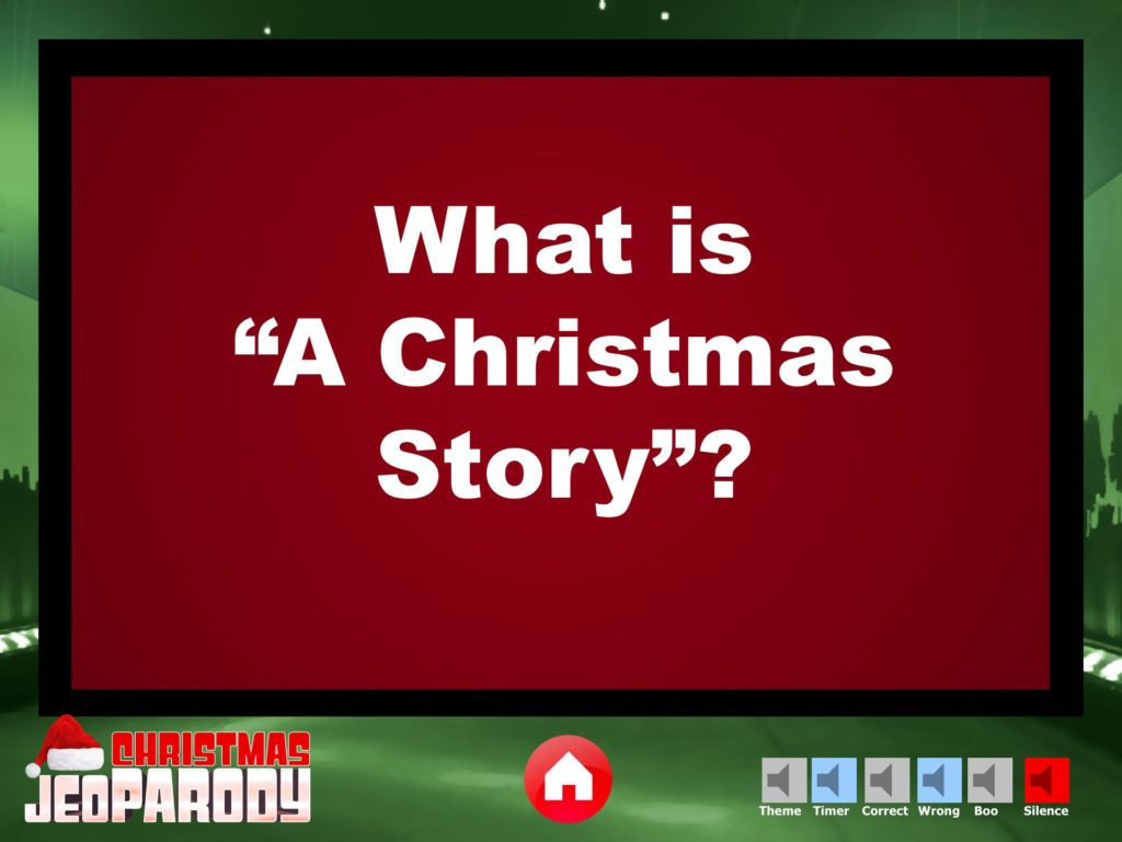 christmas jeopardy powerpoint template youth