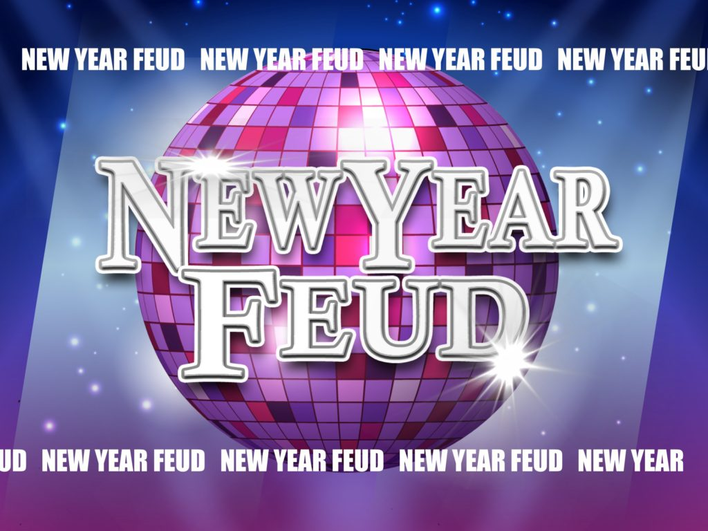 new year's eve party family feud trivia powerpoint game - mac and, Powerpoint templates