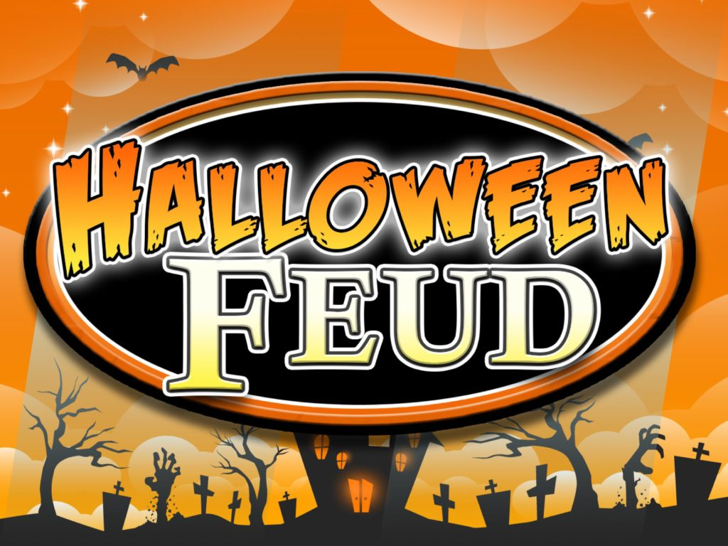 halloween family feud trivia powerpoint game - mac and pc compatible