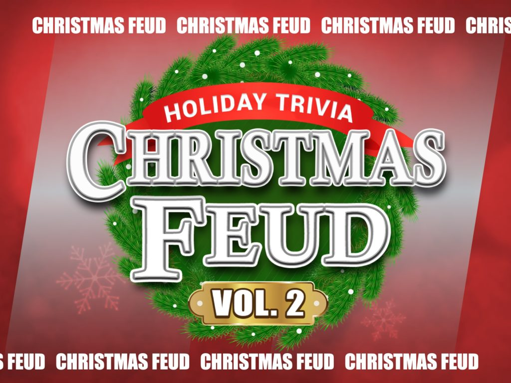 Christmas Feud VOL 2 - Family Feud Trivia Powerpoint Game - Mac and