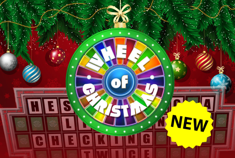 Christmas Wheel Of Fortune Powerpoint Game Youth Downloads